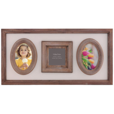jcpenney.com | Burnes of Boston® Heartfelt Distressed 3-Opening Collage Picture Frame