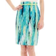 Worthington® Sateen Pencil Skirt