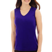 Made For Life™ Sleeveless Shirred Top
