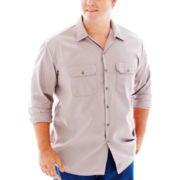 Dickies® Long-Sleeve Work Shirt–Big & Tall