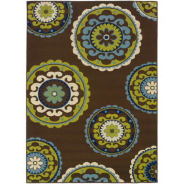 jcpenney.com | Covington Home Medallion Indoor/Outdoor Rectangular Rug