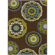 Medallion Indoor/Outdoor Rectangular Rug