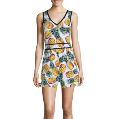 jcpenney.com | nicole by Nicole Miller® Print Romper - Petite