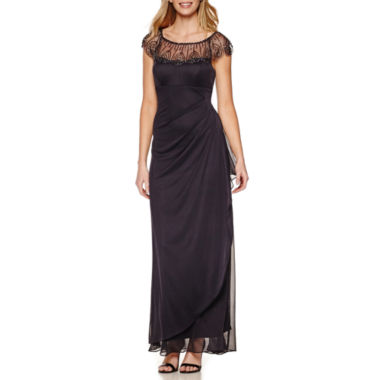 jcpenney.com | DJ Jaz Cap-Sleeve Beaded Formal Gown