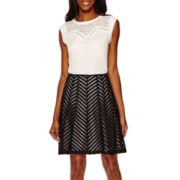 Worthington® Contrast Yoke Top or Spliced Flare Skirt - Tall
