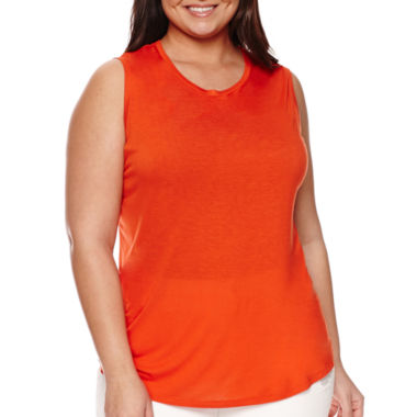jcpenney.com | Stylus™ Knit Tank Top - Plus
