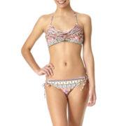 Arizona Gypsy Stripe Chevron Swim Top or Swim Bottoms - Juniors