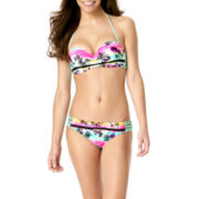 Arizona Dream Tropical Macramé Bandeau Swim Top or Swim Bottoms - Juniors