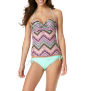 Arizona Chevy Twisted Bandeaukini Swim Top or Swim Bottoms - Juniors