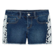 Arizona Relaxed-Fit Embellished Shorts - Preschool Girls 4-6x