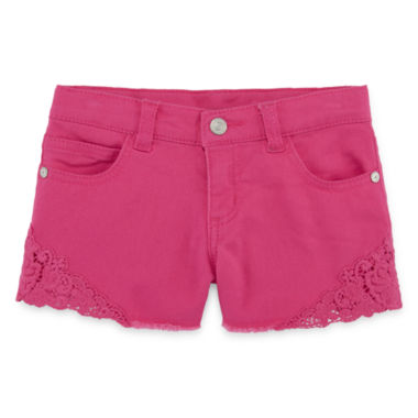 jcpenney.com | Arizona Relaxed-Fit Crochet Shorts - Preschool Girls 4-6x