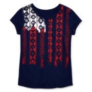 Arizona Short-Sleeve Graphic Tee - Girls 7-16