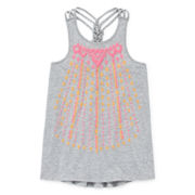 Arizona Braid-Back Tank Top - Girls 7-16 and Plus