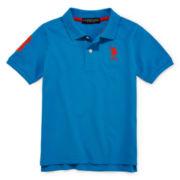 U.S. Polo Assn.® Solid Polo - Preschool Boys 4-7