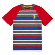 U.S. Polo Assn.® Short-Sleeve Stripe Raglan Tee - Preschool Boys 4-7