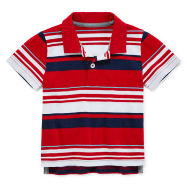 jcpenney.com | Arizona Short-Sleeve Striped Polo - Baby Boys 3m-24m