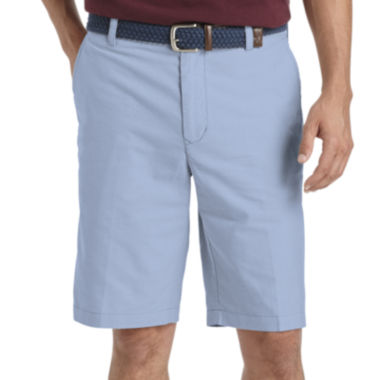 jcpenney.com | IZOD® Oxford Flat-Front Cotton Shorts