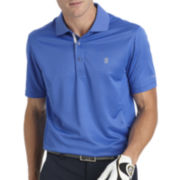 IZOD® Golf Short-Sleeve Meshed Piece Polo