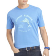 IZOD® Short-Sleeve Cotton Graphic Tee