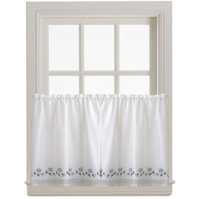 Leighton Rod-Pocket Window Tiers