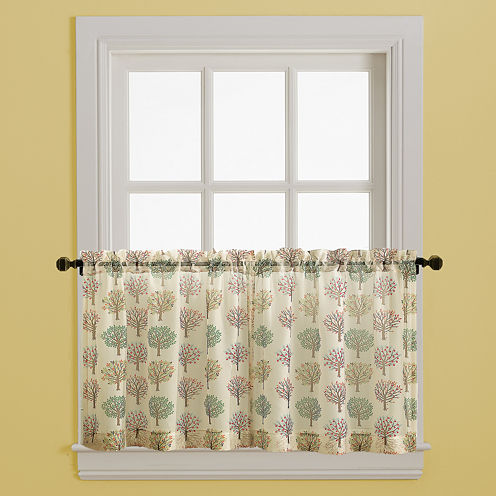 Orchard Rod-Pocket Window Tiers