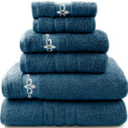 Pacific Coast Textiles™ Fleur Swirl 6-pc. Bath Towel Set