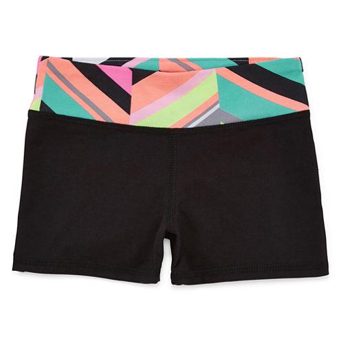Okie Dokie® Yoga Shorty Shorts - Preschool Girls 4-6x