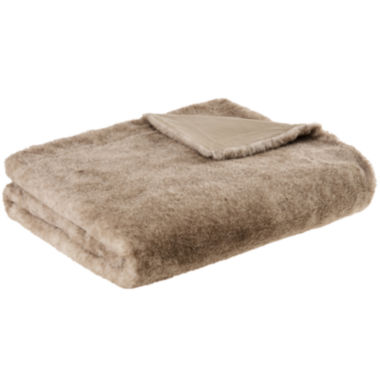 jcpenney.com | Madison Park Geneva Luxury Faux-Fur Throw
