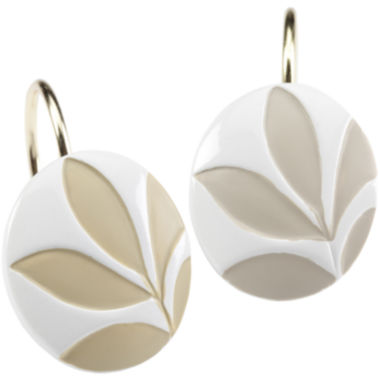 jcpenney.com | Creative Bath™ Shadow Leaves Shower Curtain Hooks