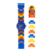 LEGO® Movie Kids Emmet Minifigure Link Watch