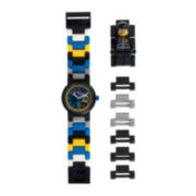 LEGO® Movie Kids Bad Cop Minifigure Link Watch