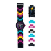 LEGO® Movie Kids Wildstyle Minifigure Link Watch