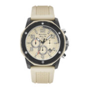 Bulova® Mens Sand Silicone Strap Chronograph Sport Watch
