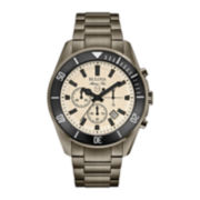 Bulova® Mens Stainless Steel Bracelet Chronograph Watch