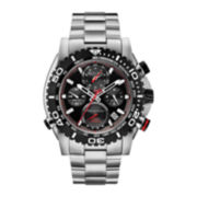 Bulova® Mens Stainless Steel Bracelet Chronograph Watch 98B212