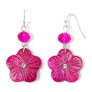 Mixit Flower Dangle Earrings