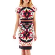 nicole by Nicole Miller® Empire-Waist Print Dress