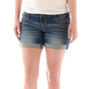Ariya™ Raw-Hem Curvy Shorts - Plus