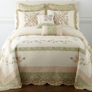 Home Expressions™ Callista Bedspread and Accessories
