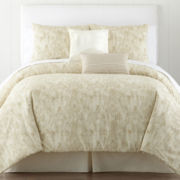 CLOSEOUT! Studio™ Cedar Wrinkle-Free 4-pc. Comforter Set