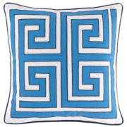 Happy Chic by Jonathan Adler Elizabeth Greek Key Decorative Pillow