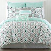 Happy Chic by Jonathan Adler Nina 3-pc. Duvet Cover Set and Accessories