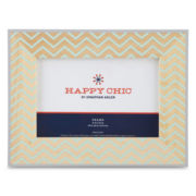 Happy Chic by Jonathan Adler Nina Printed Wood Frame