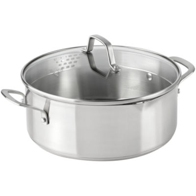 calphalon classic 5qt stainless steel dutch oven