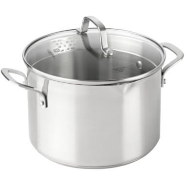 jcpenney.com | Calphalon® Classic 6-qt. Stainless Steel Stock Pot with Lid