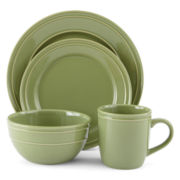 JCPenney Home™ Stoneware 4-pc. Dinnerware Set