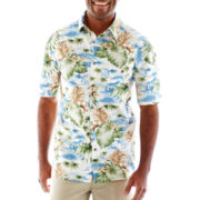 Island Shores™ Short-Sleeve Button-Front Shirt