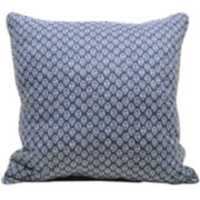 jcp home™ Solid/Print Reversible Decorative Pillow