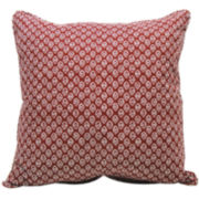 JCPenney Home™ Solid/Print Reversible Decorative Pillow