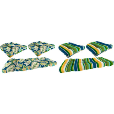 jcpenney.com | 3-pc. Wicker Reversible Cushion Set